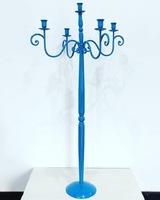 Канделябр «голубой» 110 см