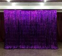 Фиолетовая  «фотозона» из дождика