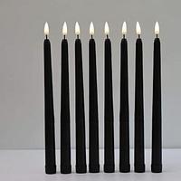 Горящая «чёрная свеча»