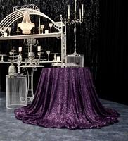 Скатерть «Фиолетовая» пайетка