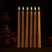 Горящая свеча  28 см