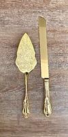 Набор «нож и лопатка»для торта  5*