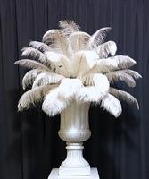 Перья страуса «белые» 40-45 см