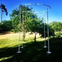 Свадебная конструкция с круглымверхом
